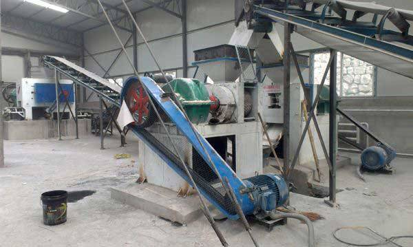Raw material determine briquette machine plant forming rate: