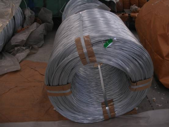 patented galvanized steel wire for wire rope