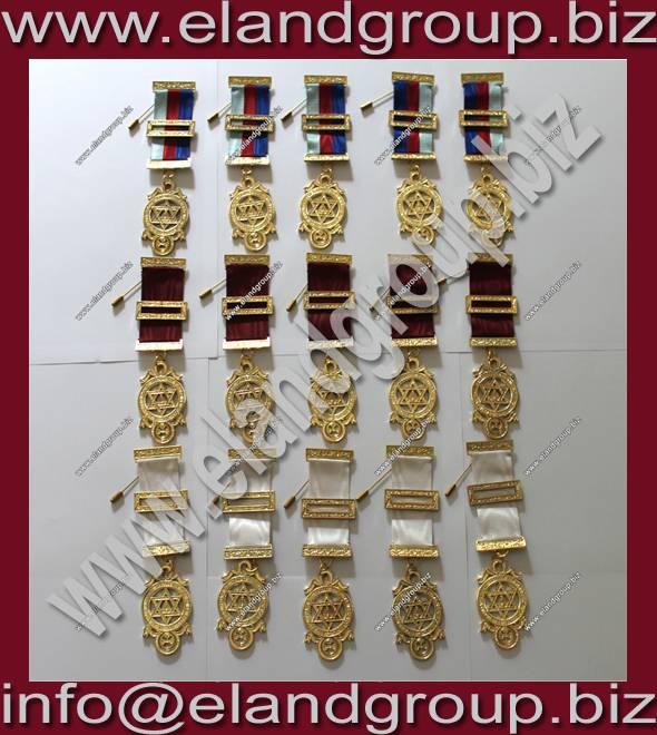 Masonic Royal Arch Provincial Breast Jewels