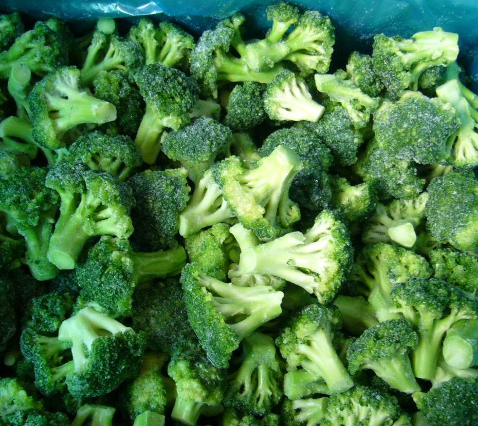 Frozen broccoli florets /cauliflower