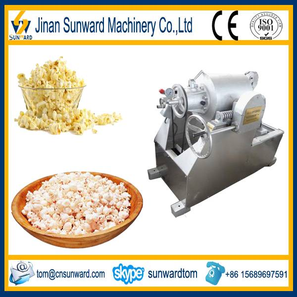 Stainless steel puffed wheat equipment from china