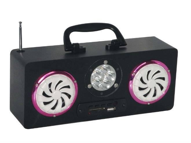 JD-L06 usb mini speakers with flashlight