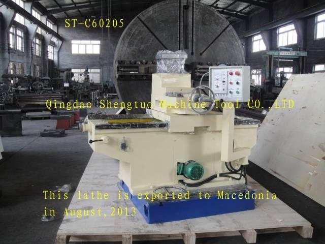 facing lathe /CNC facing lathe machine / flange lathe machine