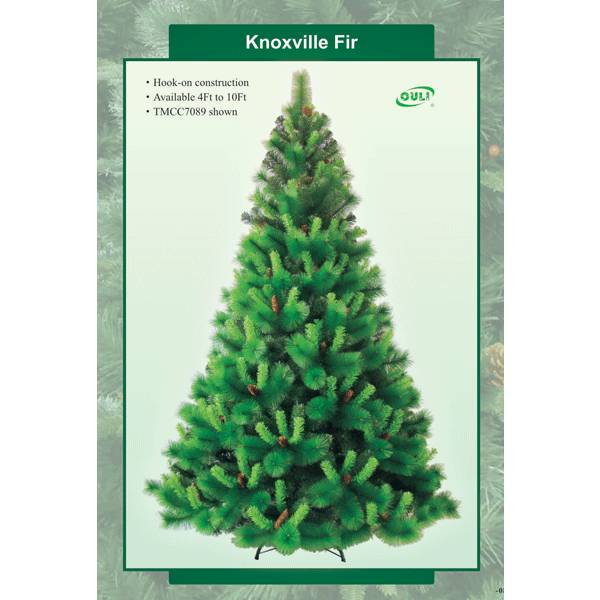 fake christmas trees for office decoration