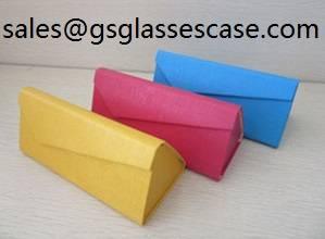 Sell Folding Handmade Glasses Case High quality PU eyeglasses case,Sunglasses case