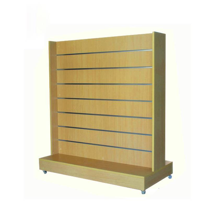 MDF gondola/wooden gondola from Rongye Industry China shopfitting supplier