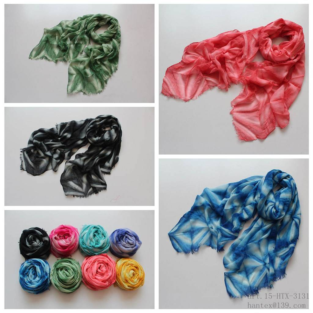 lady's spring scarf