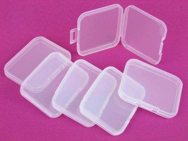 small plastic storage case