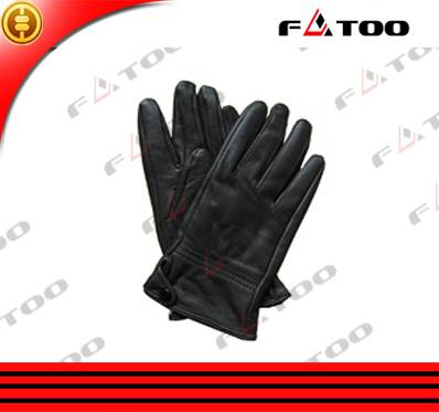 Good Quality Cheap Genuine Leather Motorcycle Full finger Riding Gloves/Motorbike Accessories