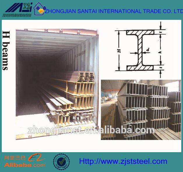 wide flange h beam i beam supplier madein china