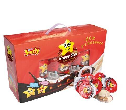 20g chocolate with biscuit (gift packing)
