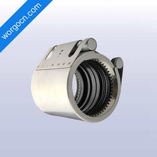 Restrained Pipe Coupling with Gear Ring