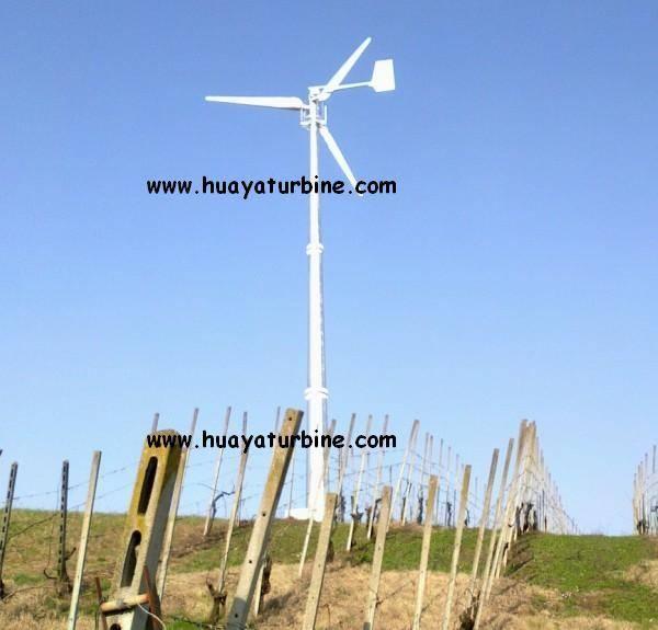 Horizontal axis wind turbine 300w-30kw