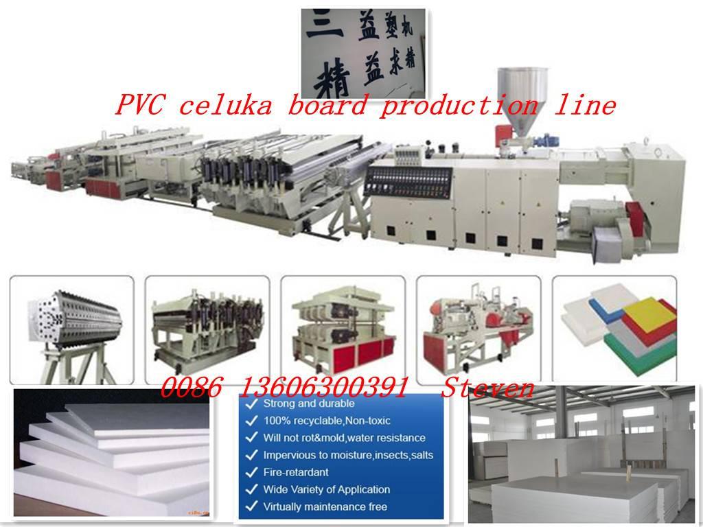 pvc celuka foam board production line