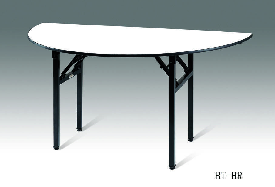 BANQUET FOLDABLE HALF ROUND TABLE