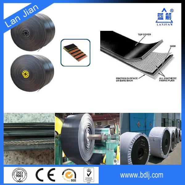 industrial heavy duty nn conveyor belt Fabric belt conveyor for steel industry(OEM and free sampl