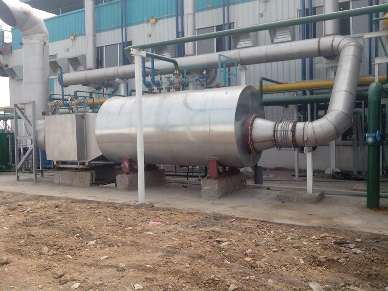 Exhaust Gas Boiler for 3000KW Caterpillar Genset Biogas Plant Waste Heat Boiler
