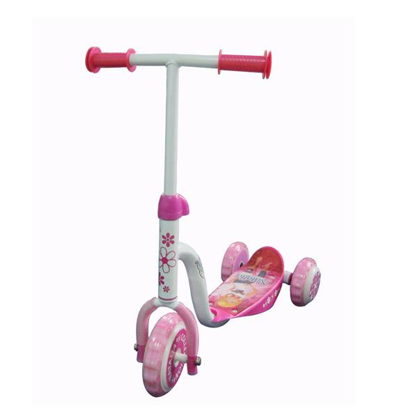 Girls lovely 3 wheel kick scooter cheap
