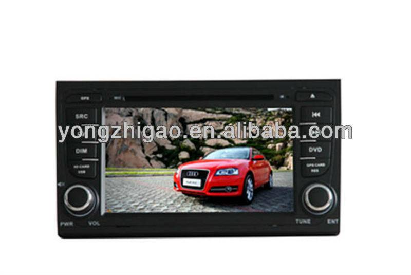 Large quantity of double din in-car dvd player for AUDI-A4(2002-2008) in stock Order now