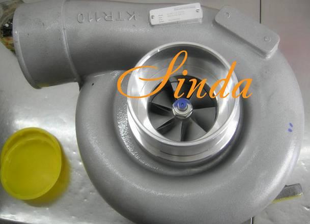 KTR110 6505-52-5510 turbocharger assy for Komatsu 6D170