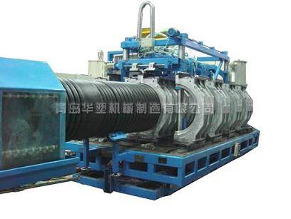 corrugated pipe machine- PE double wall corrugated pipe production line