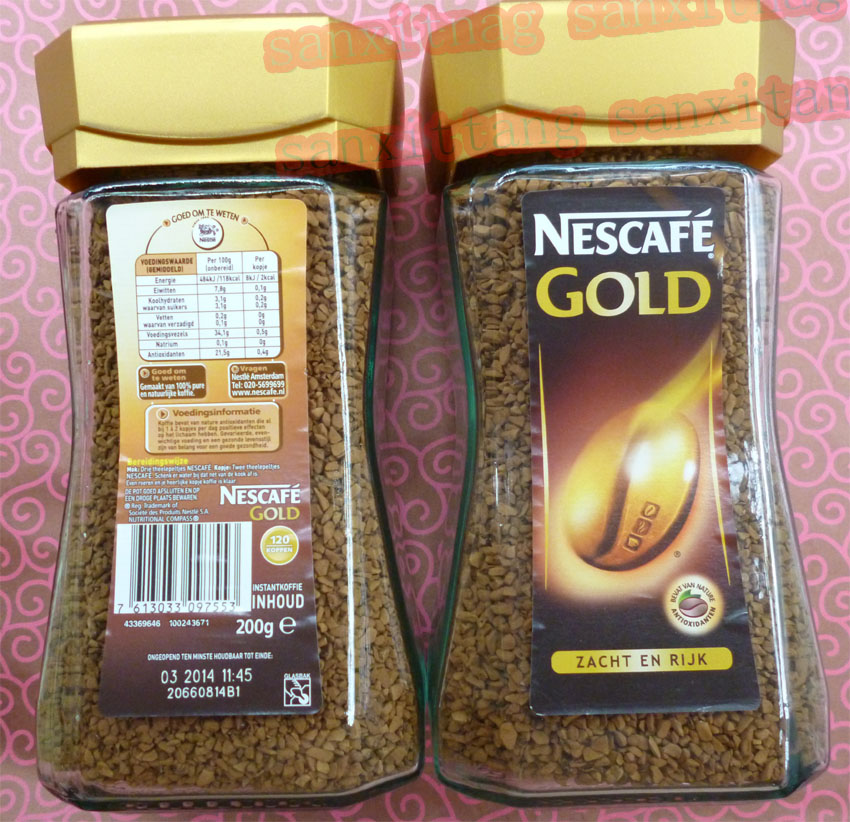 ground coffee CLASSIC and GOLD