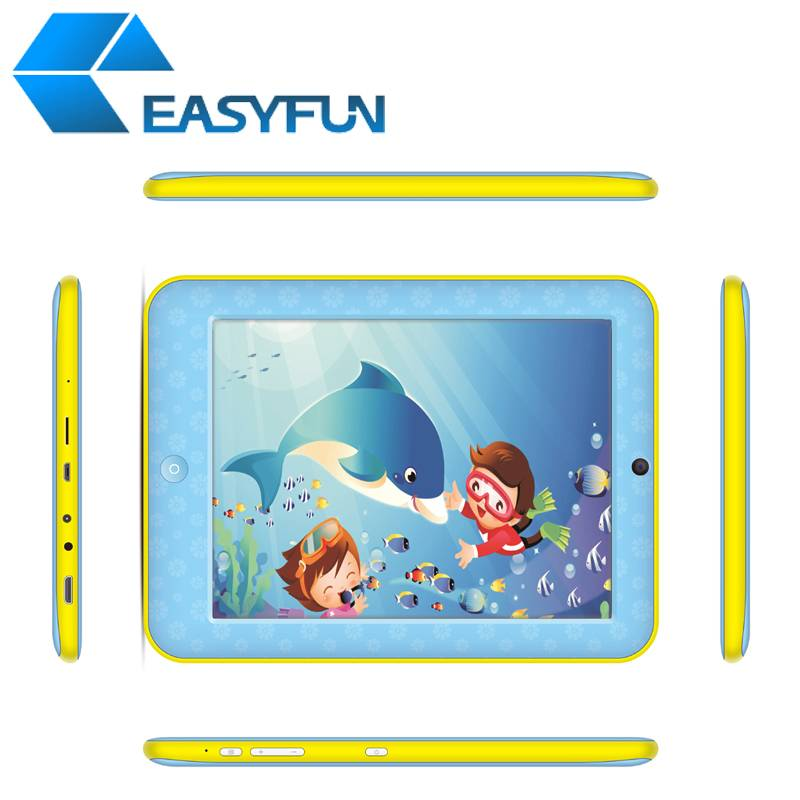 8 inch Kids/Children Tablet PC/MID RK3168+ Android 4.2 5-point touch Dual camera