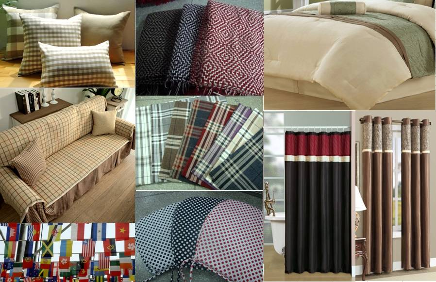 Cushion Cover/ Sofacover/ cushion/ bed sets/ grommet panel/ shower curtain/ flag/ throw/ Seat pad