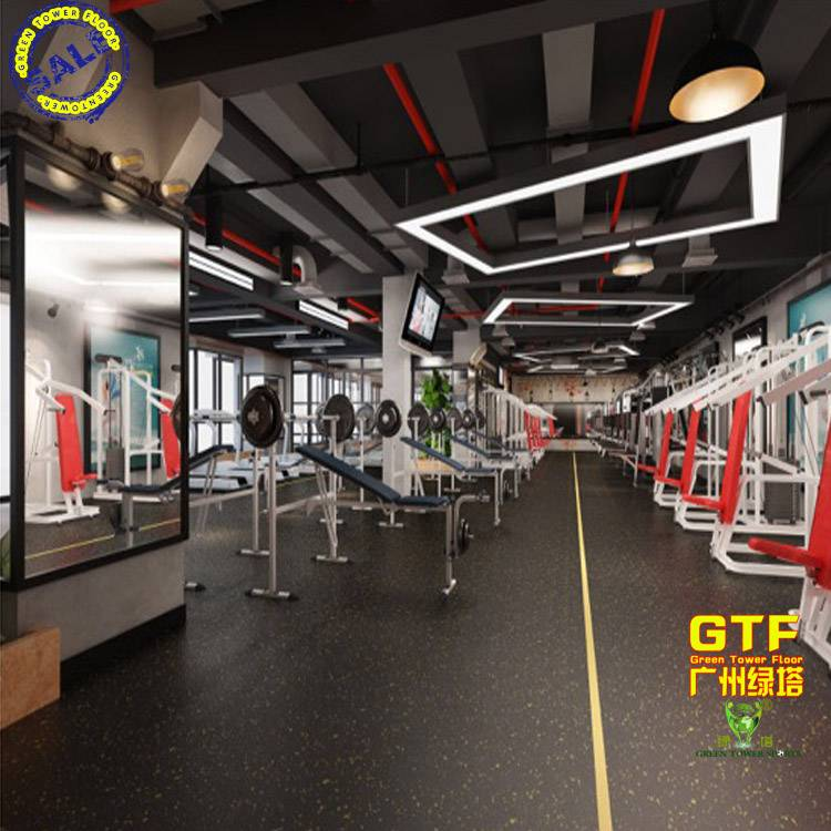 Gym Sports Flooring EPDM Rubber Mat