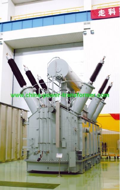 230kV High Voltage Oil Immersed Three Phases Power Transformer