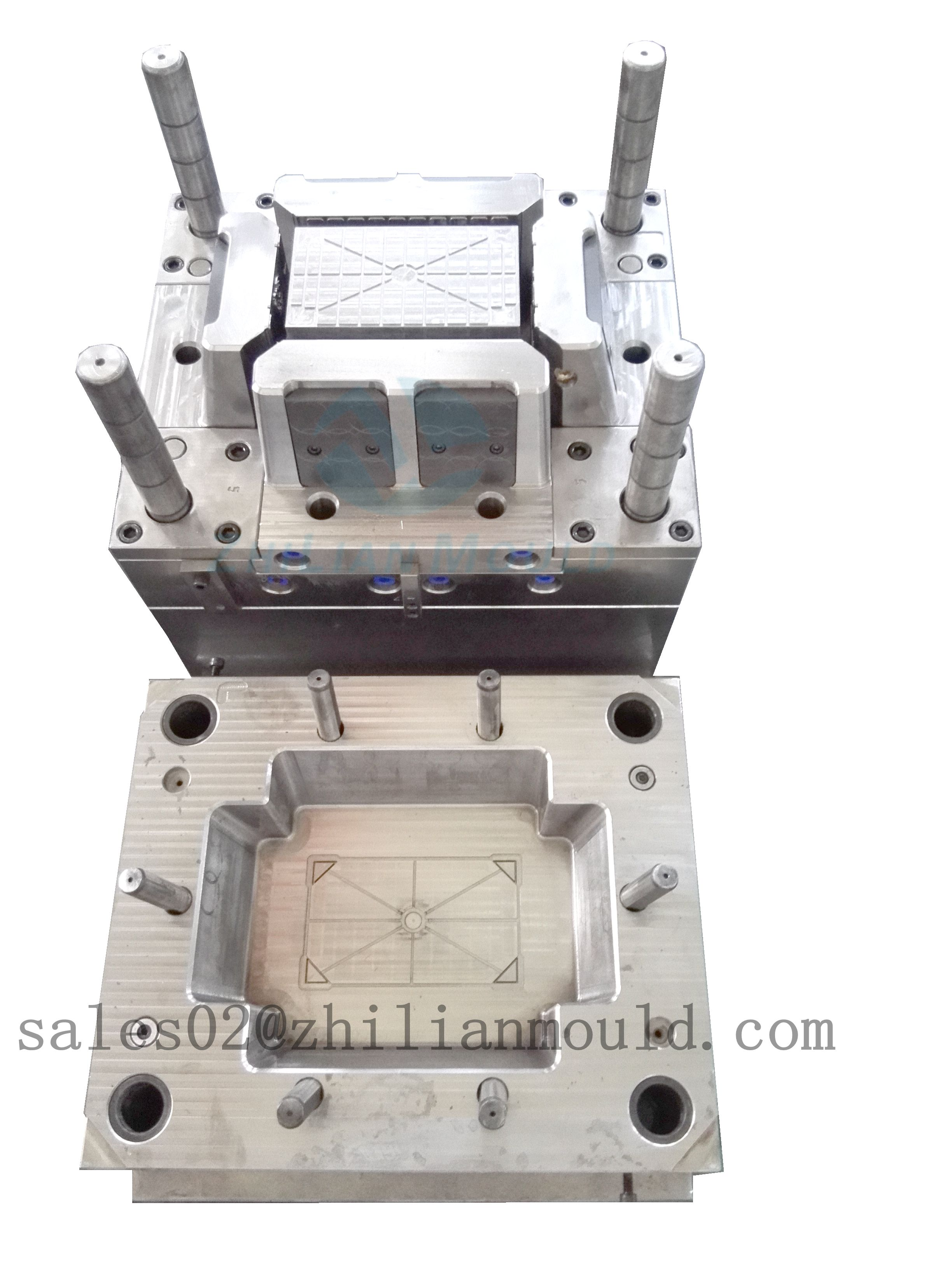 supply plastic crate mould