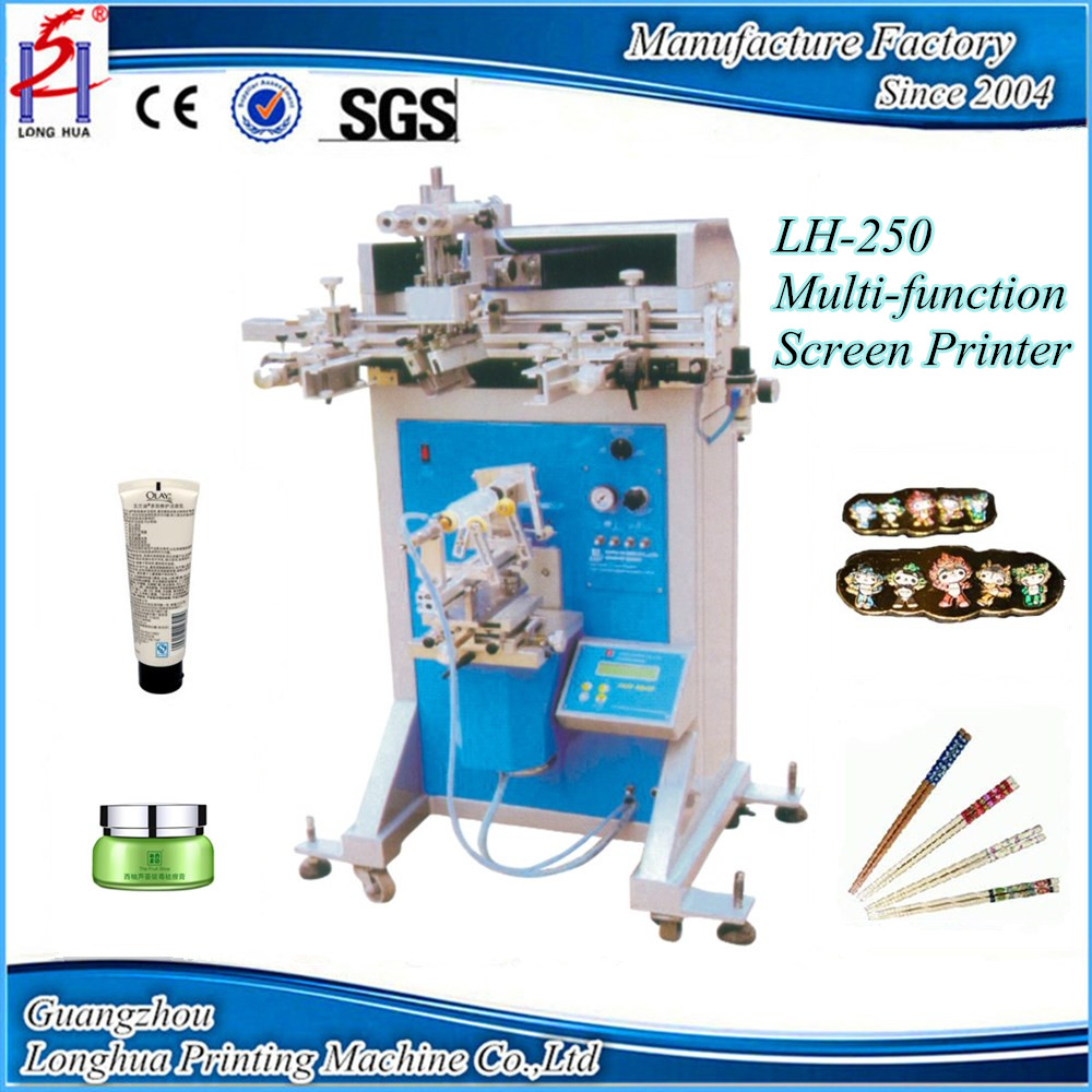 Multifunction Semi Automatic Silk Bottle Sakurai Screen Printing Machine Prices For Sale