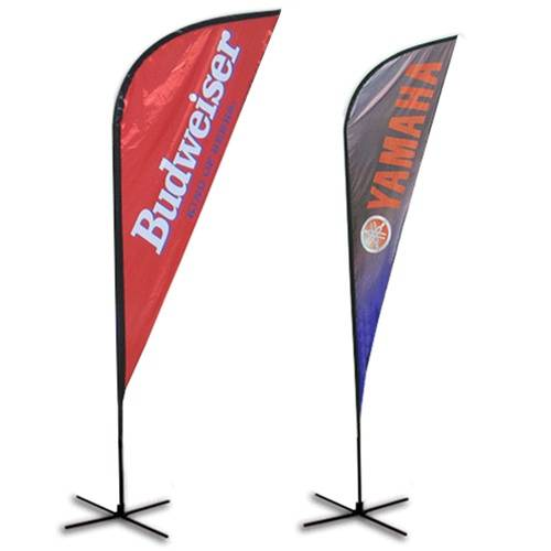 Shark fin Flags, zoom flags, Event flags