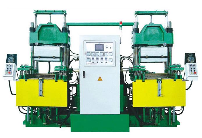 Vacuum Vulcanizer Press Rubber Machine (double-set)