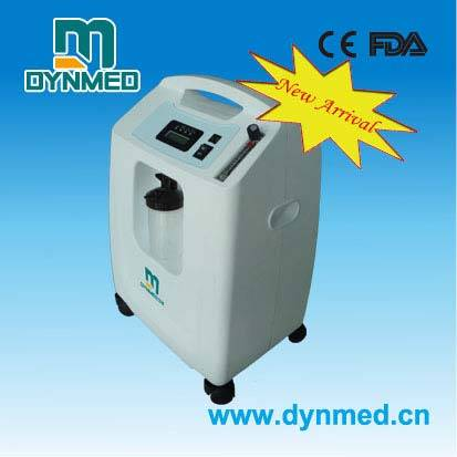 5 liters portable oxygen concentrator for hospital and home
