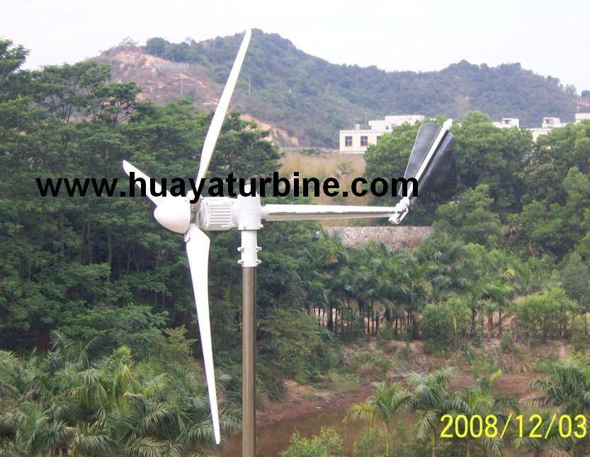 Horizontal axis wind turbine 300w-30kw