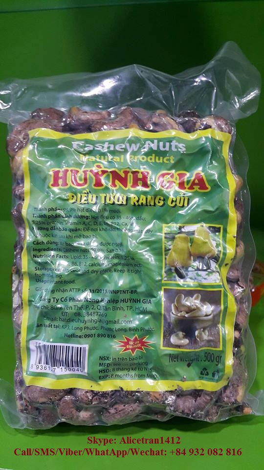 1 Kg Cashew Nuts For Retails