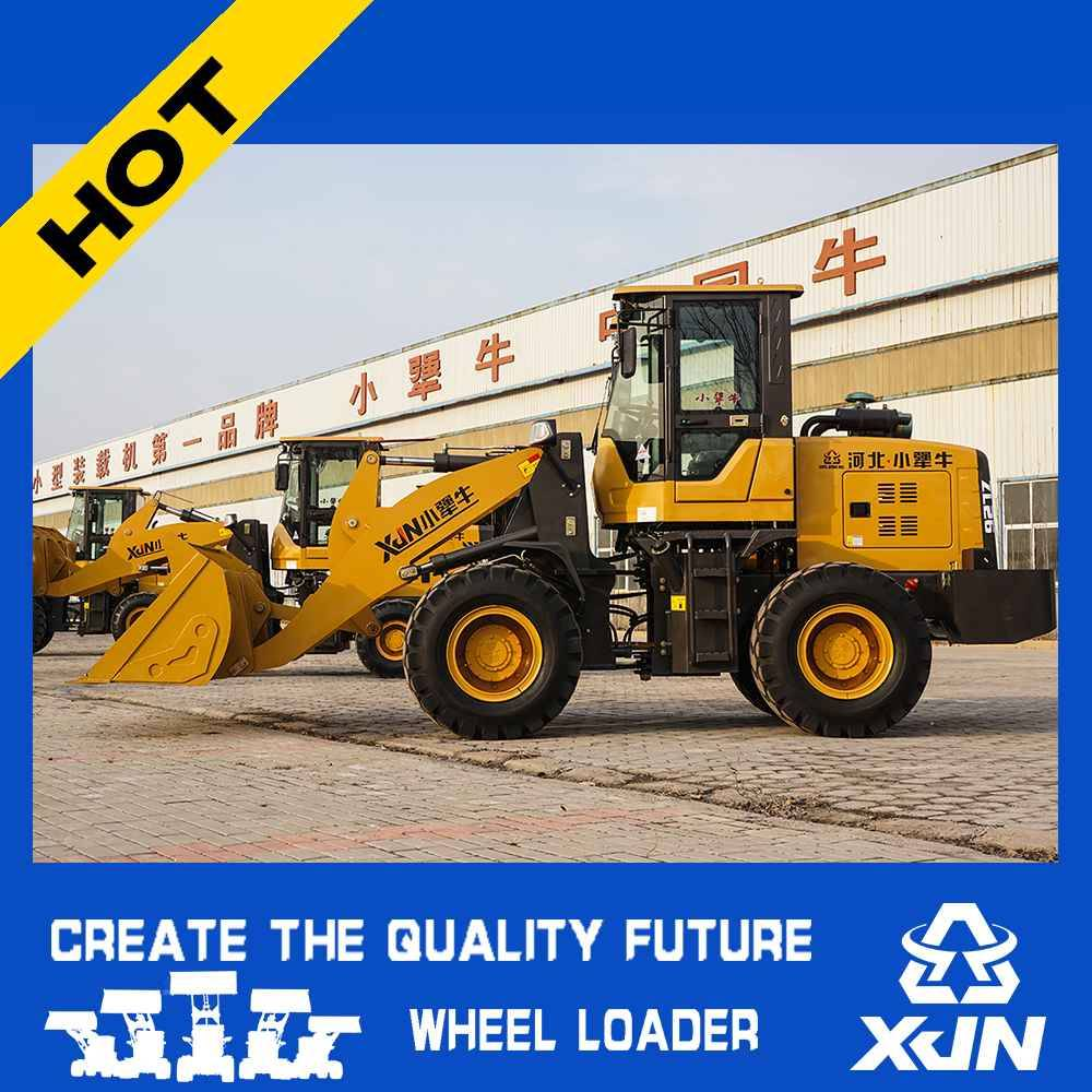 small construction machine ZL26 1.6 tons mini wheel loader with CE