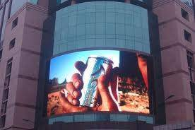 Outdoor Curved LED advertising Display board