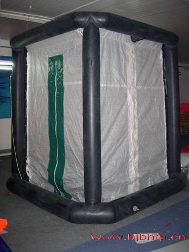 Fire-decontamination shower Tent