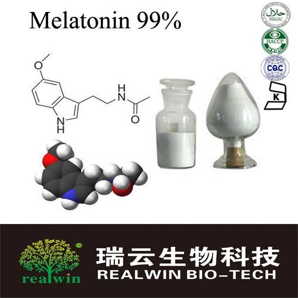 Pure Melatonin 99%/Melatonin Powder for beauty&health