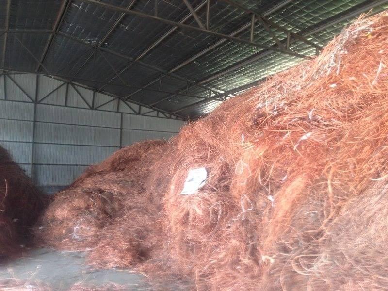 Offer copper wire scrap