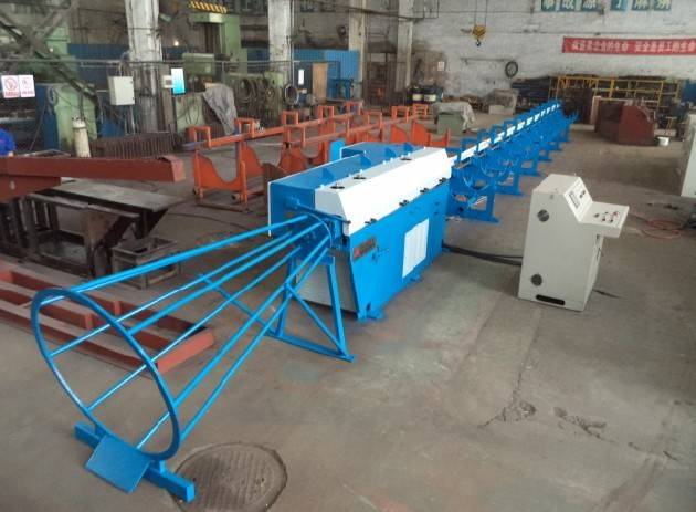 wire straightening and cutting machine GT 10/16