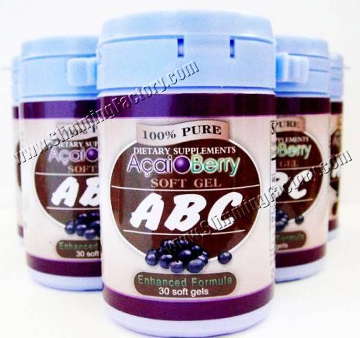 ABC Acai Berry Slimming Capsule-- Factory Price