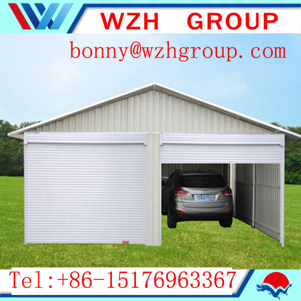 double car shed carport canopy , steel garage shed and car parking shed