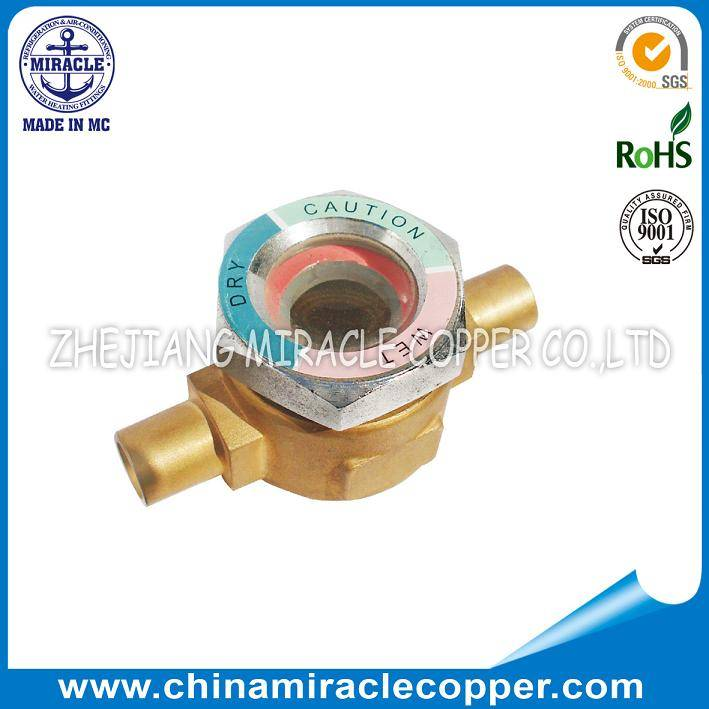 Refrigeration Parts Sight Glass Welding Type without Copper Tube
