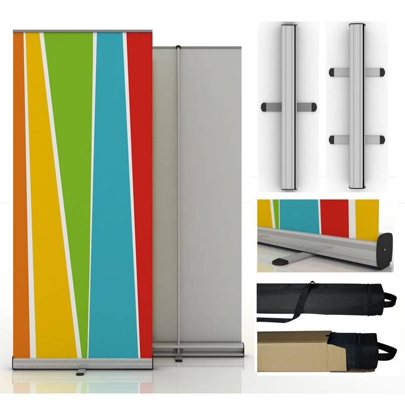 Aluminum roll up banner stand @ $6.5