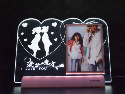 Led Light Photo Frame for Housing Decoration