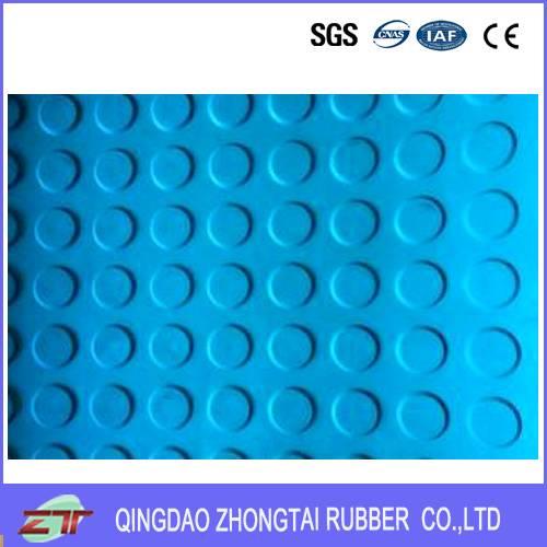 high/flat/large/aquare round dot rubber sheet