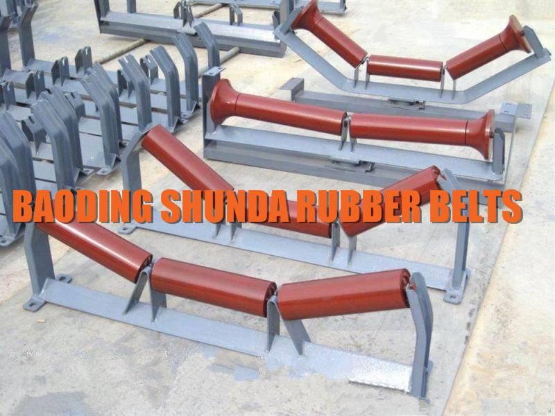 35 Degree Buffer Conveyor Idler Set, Belt Conveyor Roller